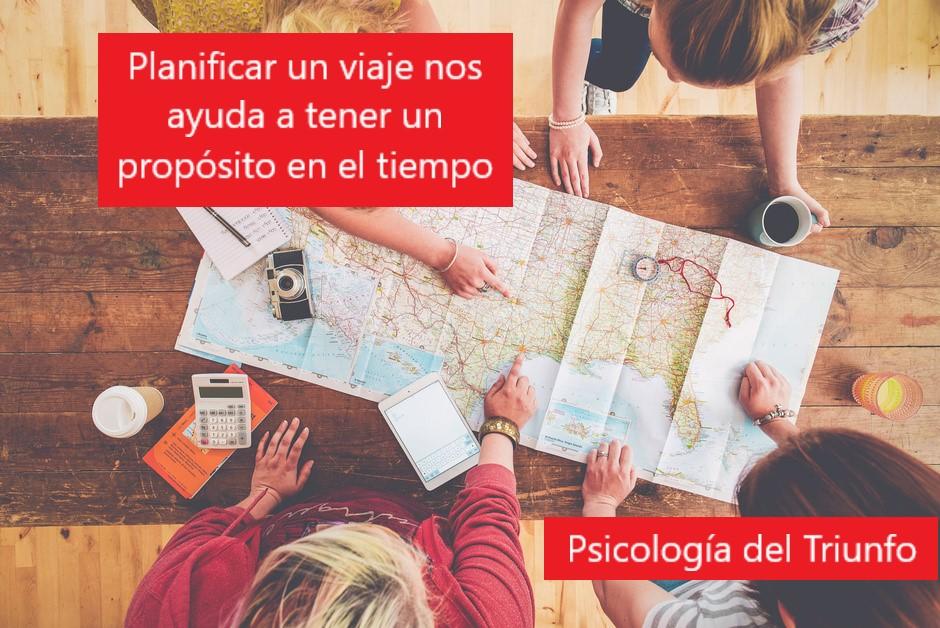 Planear viajes ayuda a que seamos mas felices