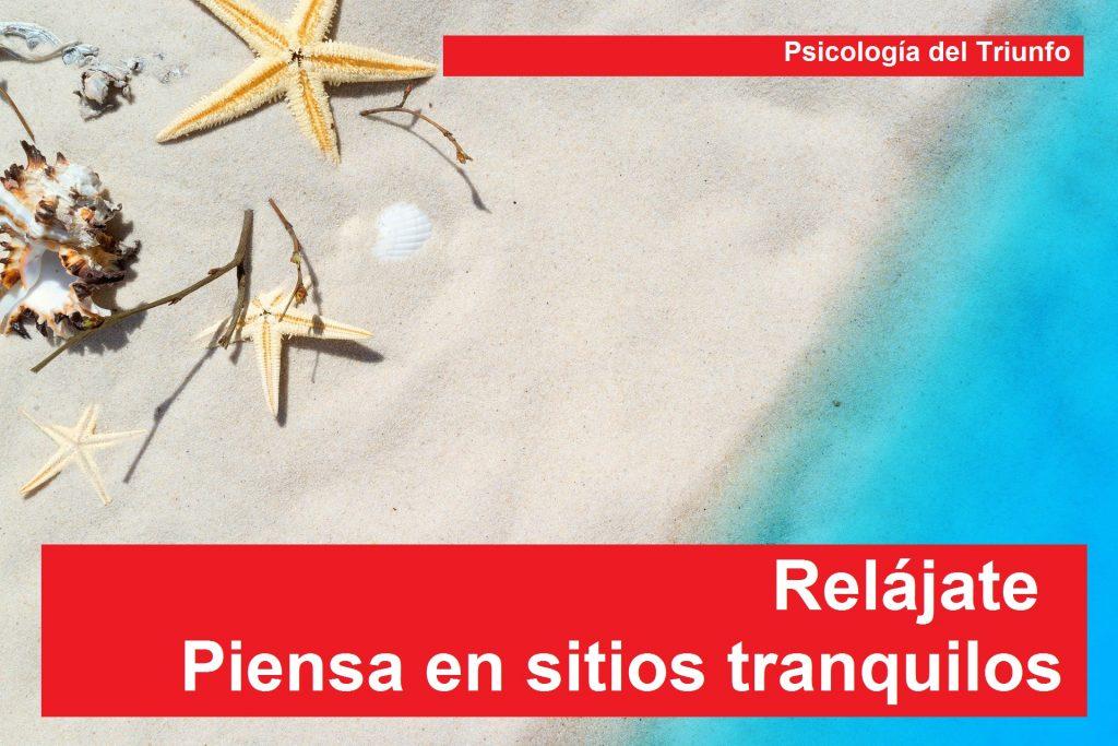 La relajacion guiada y la playa