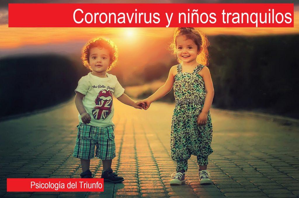 Coronavirus y niños felices